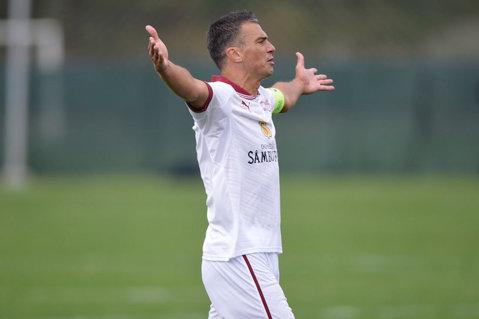 """Pancu a jucat cu CFR ultimul meci oficial din carieră: """"Nu aş fi vrut să am această ieşire cu un cartonaş roşu. Asta este, poate o să am un meci de retragere"""""""