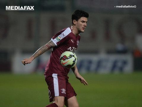 Prima plecare de la Rapid după ce echipa a retrogradat. Calculele care facilitează transferul lui Săpunaru la Udinese