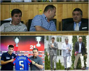 CULISE   Steaua ratează transferuri din cauza lui Argăseală. Ce măsură a luat Becali după ce preşedintele a dat o gaură importantă în conturile clubului
