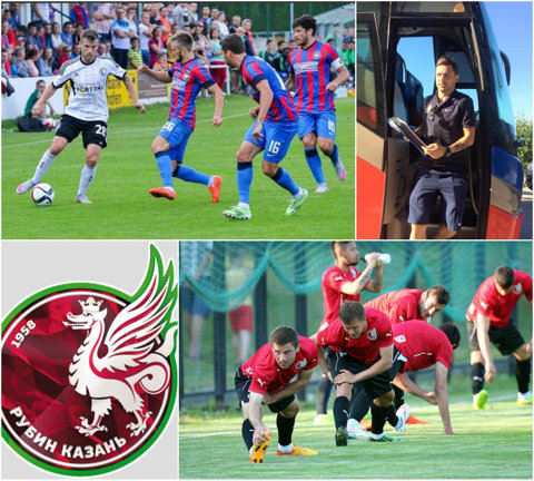 AMICAL | Steaua-Rubin Kazan 2-1 (0-1). Campioana României a făcut o repriză secundă bună şi a întors scorul de la pauză, datorită lui Tudorie şi Iancu