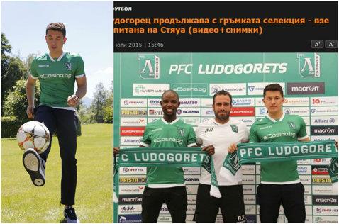 Prepeliţă a fost prezentat la Ludogoreţ. Va câştiga dublu faţă de cât lua la Steaua