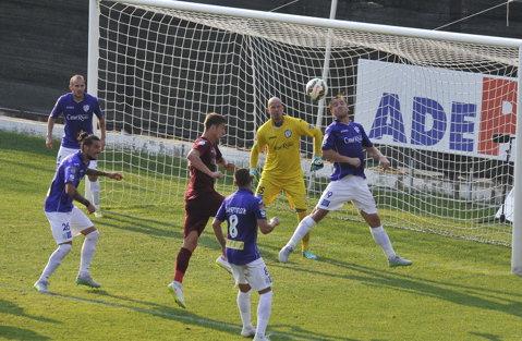 Primele puncte pentru bănăţeni după revenirea în Liga 1. ACS Poli Timişoara - FC Botoşani 1-0