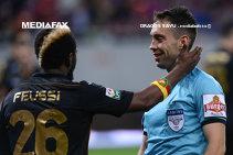 ANALIZA ARBITRILOR | Etapa a 3-a: Steaua trebuia să primească un penalty şi să beneficieze de eliminarea lui Camora de la CFR. Găman a luat nota 3 pentru prestaţia de la Iaşi