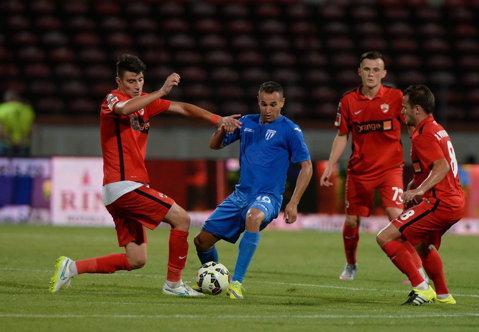 Dinamo va disputa un meci amical cu Chindia Târgovişte