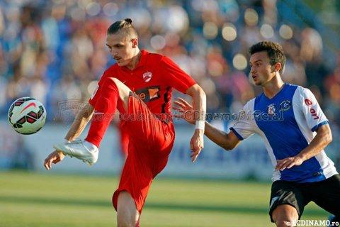 Chindia - Dinamo, scor 1-2, într-un meci amical