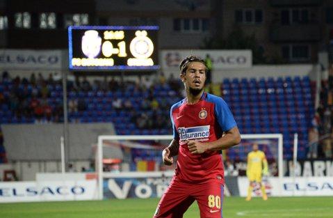 """Iancu """"Jianu"""" a furat punctele în meciul de la Botoşani. Steaua s-a impus greu cu 1-0, după un nou meci foarte slab"""