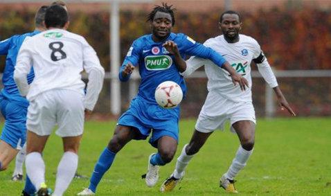"""Essombe a debutat cu gol la Dinamo: """"Ca jucător, să ai astfel de suporteri, te motivează, te împing de la spate şi dai tot ce este mai bun"""""""