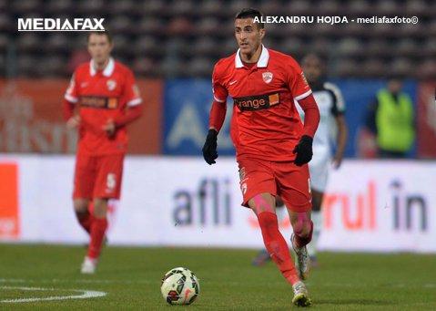 """Elhamed ar putea reveni la Dinamo! Mijlocaşul ar ajunge în """"Ştefan cel Mare"""" sub formă de împrumut de la Gent"""