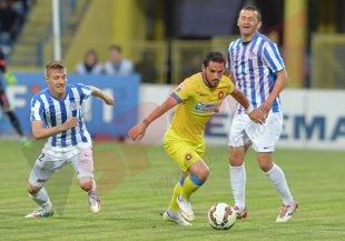 CSMS Iaşi - Steaua 1-2. Chipciu şi Tahar au înscris pentru campioană. Echipa lui Rădoi termină turul pe locul secund