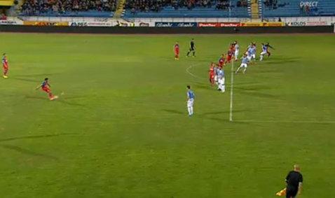 FOTO | Balaj a dictat penalty pentru Steaua la faza asta, centralul a revenit apoi asupra deciziei! Ce s-a întâmplat