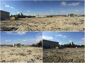 FOTO   Stadionul din Târgu Jiu a fost pus la pământ. Cum arată locul unde va fi ridicată noua arena a Pandurilor