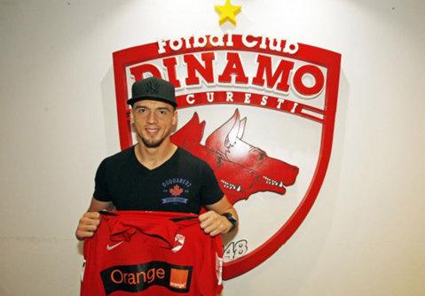 """Shalaj crede în Dinamo: """"Am avut şi alte oferte, dar am ales să vin aici. Sunt sigur că avem şanse să câştigăm un trofeu!"""""""