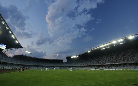 ULTIMA ORĂ | Cum arată în aceste momente Cluj Arena: fotografie surprinsă în urmă cu doar câteva minute