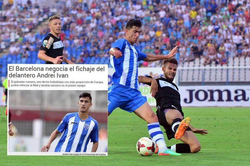 Sport.es: Barcelona negociază transferul lui Andrei Ivan! Oferta făcută de catalani pentru atacantul Craiovei