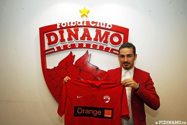 OFICIAL | Sergiu Hanca a fost prezentat la Dinamo! Durata contractului şi declaraţiile noului jucător din Ştefan cel Mare