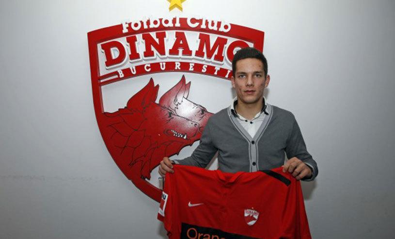 OFICIAL | Încă un transfer făcut de Dinamo