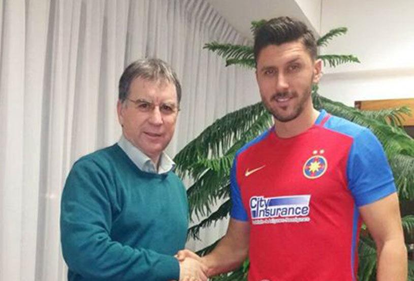 """Marica a semnat pe un an cu Steaua. Ce număr va purta pe tricou: """"Am venit cu inima deschisă"""". UPDATE: Vârful de 30 de ani dezvăluie: """"Singurii care nu m-au căutat au fost cei de la Dinamo"""""""