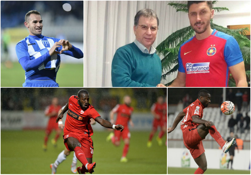 COMPARAŢIE | Şah în atac: mutările cu care Steaua şi Dinamo vor să dea lovitura în acest sezon. Cifrele atacanţilor cu care granzii Bucureştiului speră să câştige lupta la titlu