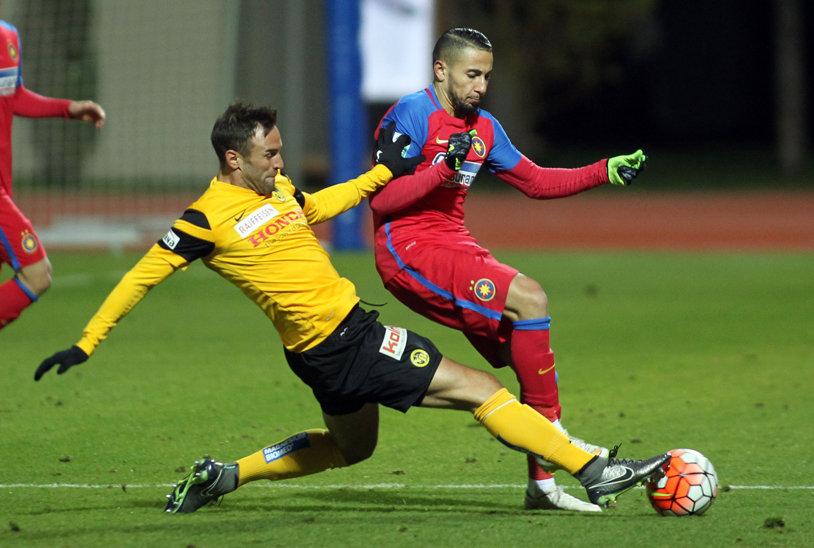 Hamroun, din nou cel mai bun! Algerianul a fost cel mai inspirat jucător al lui Reghecampf în prima victorie a iernii. Steaua - Ujpest 2-0