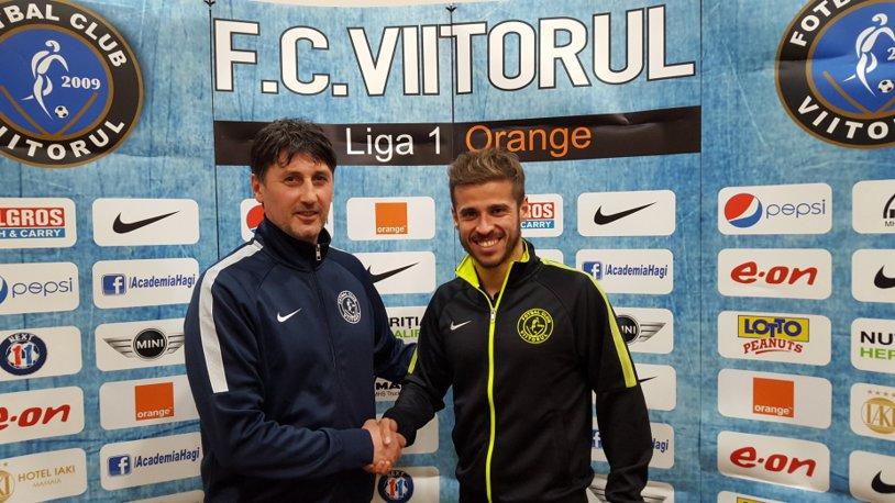 FC Viitorul l-a transferat pe fostul mijlocaş al echipei Petrolul, spaniolul Pablo De Lucas