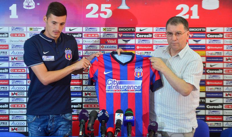 Transferul la Steaua i-a distrus cariera! Unde a ajuns să joace al doilea golgheter al României din 2014