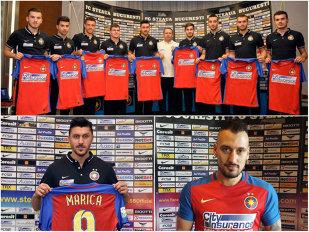 Din play-off chiar începe un ALT campionat! Cum va arăta Steaua, după ce Becali i-a adus 11 jucători lui Reghe