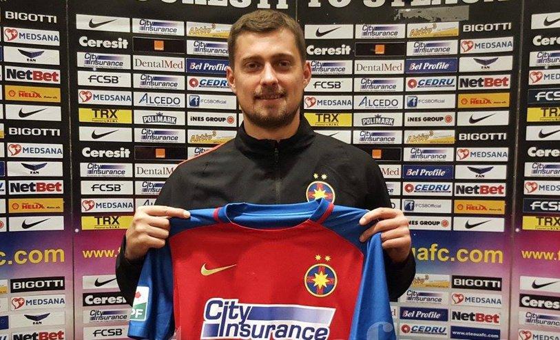 OFICIAL | Gabi Tamaş a semnat cu Steaua pe două sezoane şi jumătate! Prima reacţie a fundaşului