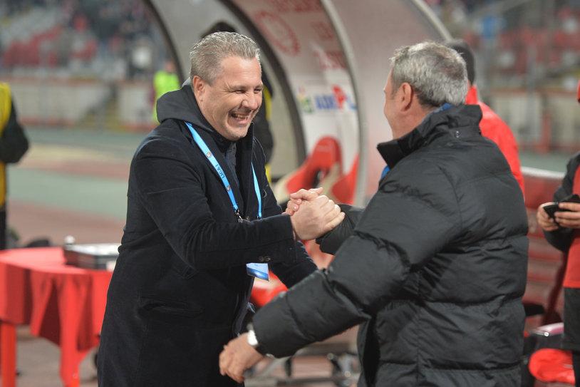 """Declaraţia pentru care Rednic i-ar da like lui Şumudică: """"Dacă nu luăm noi titlul, aş fi bucuros să-l câştige Dinamo"""". Antrenorul Astrei a găsit deja înlocuitori pentru Budescu"""