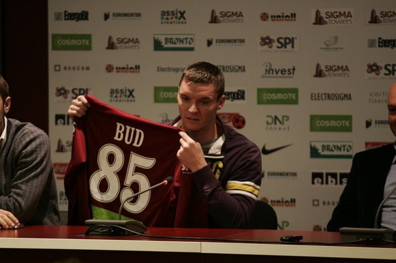 Cristi Bud a semnat cu CFR Cluj. Ardelenii şi-au completat postul de atacant şi nu mai au nevoie de Tade