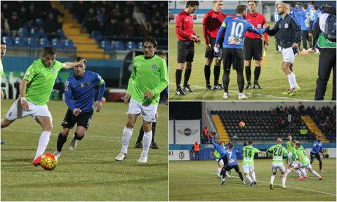 Surpriză la Ovidiu: Viitorul - CSMS Iaşi 1-2! Moldovenii o egalează pe ASA şi speră la play-off