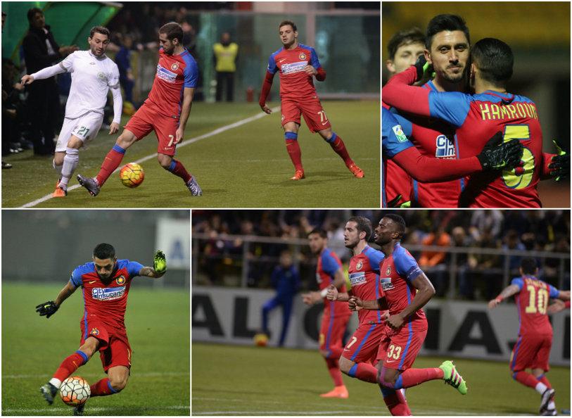 Trei lucruri despre noua faţă a Stelei după victoria cu 2-0 la Chiajna. Evoluţia lui Marica, noul rol al lui Stanciu şi dilemele defensivei