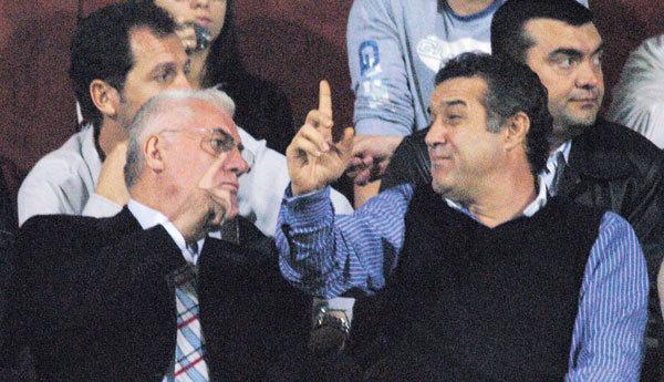 """Becali a luat foc înaintea meciului cu Voluntari: """"Mitică, dă-l afară pe Ganea!"""" Dragomir a reacţionat: """"Dacă nu face cum zic eu, pleacă!"""""""