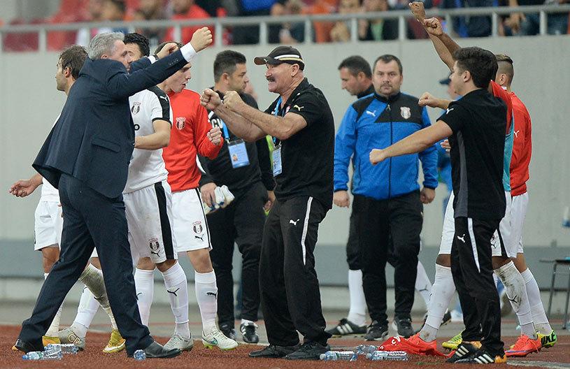 Victorie uriaşă pentru Şumduică. FC Botoşani - Astra 0-1. Giurgiuvenii au câştigat, deşi au jucat în 10 oameni din minutul 65