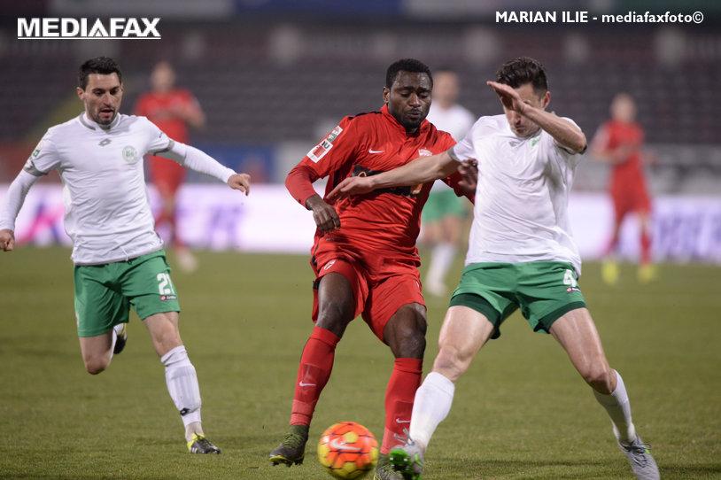 Unbeatable 10! Essombe a strălucit şi echipa lui Rednic a ajuns la 10 meciuri la rând fără înfrângere. Dinamo - Concordia 4-0