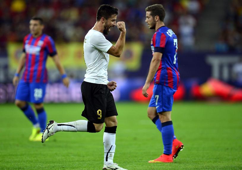 Transferul lui Enache a fost înregistrat la LPF! Jucătorul poate debuta la Steaua chiar în această seară, în meciul cu Voluntari