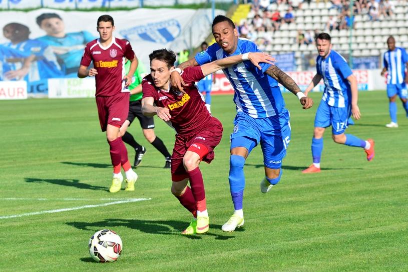 Bud strong. Atacantul a fost decisiv la Craiova, la redebutul în tricoul CFR-ului: CS U Craiova - CFR Cluj 0-1