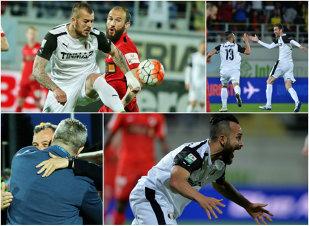 E vorba de onoare! Astra se comportă ca o adevărată campioană şi o execută pe Dinamo, scor 4-2