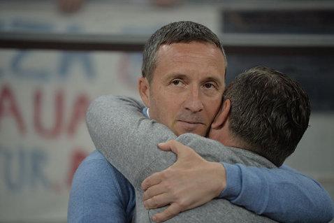 """""""Fraţii"""" trec prin cea mai grea perioadă la Steaua. Mesajul lui Mihai Stoica despre înlocuirea lui Reghecampf"""