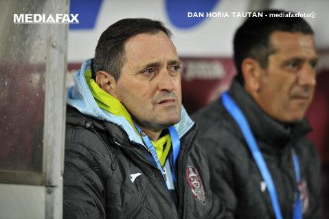 """CFR vrea să încheie sezonul pe prima poziţie în clasamentul play-out-ului: """"Mergem la Botoşani să câştigăm!"""""""