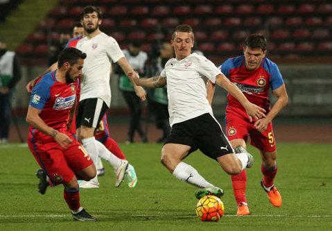 S-a făcut! Steaua a reuşit al patrulea transfer din această vară, pentru 200.000 de euro, plus un jucător