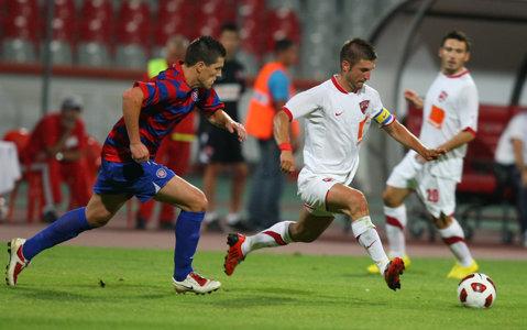 """Andrei Cristea, din nou faţă în faţă cu Hajduk. Atacantul speră să realizeze cu CSMS Iaşi ceea ce nu a putut cu Dinamo. """"Ei sunt favoriţi, dar ne putem califica!"""""""