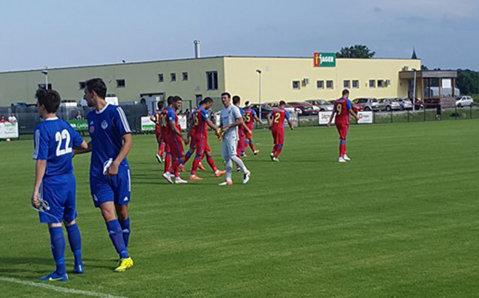 Steaua - Dinamo Zagreb 0-0. Jucătorii lui Reghecampf au ratat cele mai mari ocazii ale meciului. Hamroun, cel mai periculos stelist