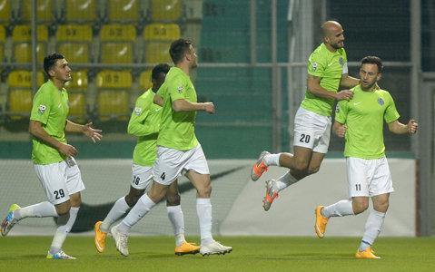CSMS Iaşi a terminat la egalitate 1-1 meciul amical disputat împotriva formaţiei Osmanlispor