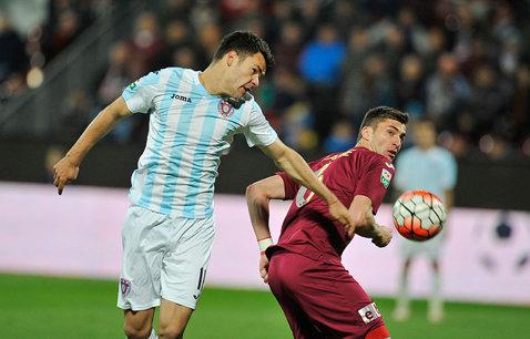 Gaz Metan - ASA 2-1. Medieşenii revin cu o victorie în Liga 1. Axente a marcat golul decisiv