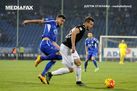 Dramatism ca la olteni. Hora a marcat în minutul 90+3, iar Pandurii a învins Craiova, scor 2-1. Vătăjelu egalase în minutul 89