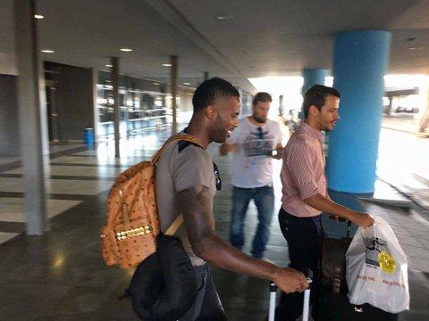 FOTO   Fernando Varela a ajuns la Salonic. Fostul căpitan al Stelei a prins cel mai bun contract din carieră