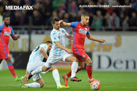 Scandal cu Hamroun la Steaua! Algerianul, exclus din lot pentru meciul cu Sparta Praga. Ce a făcut mijlocaşul