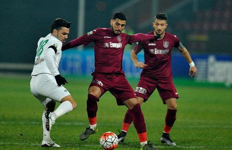 3 pentru -3. CFR a debutat cu victorie în noul sezon şi scapă de 3 dintre punctele cu minus. CFR Cluj - Concordia Chiajna 2-0