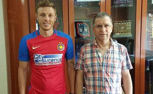 OFICIAL | Încă un transfer făcut de Steaua. Bogdan Mitrea a semnat pe un an. Ce număr va purta