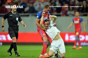 Salvaţi de execuţii! Pandurii - Steaua 0-1, un nou meci în care Reghe s-a chinuit fără atacant. Steaua e liderul Ligii 1